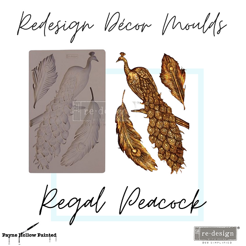 REGAL PEACOCK - Redesign Decor Moulds®