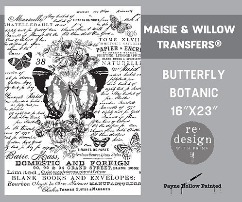 BUTTERFLY BOTANIC - Maisie & Willow -  Redesign Decor Transfers