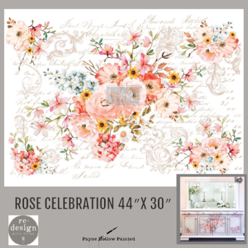 ROSE CELEBRATION - Redesign Decor Transfers®