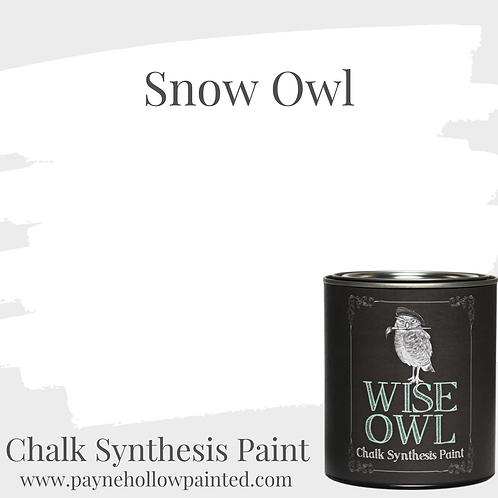 SNOW OWL Chalk Synthisis Paint
