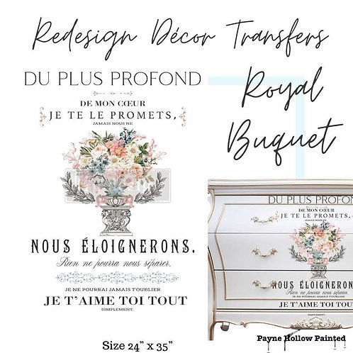 ROYAL BOUQUET - Redesign Décor Transfers®