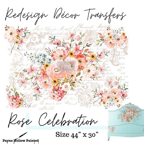 ROSE CELEBRATION - Redesign Decor Transfers®
