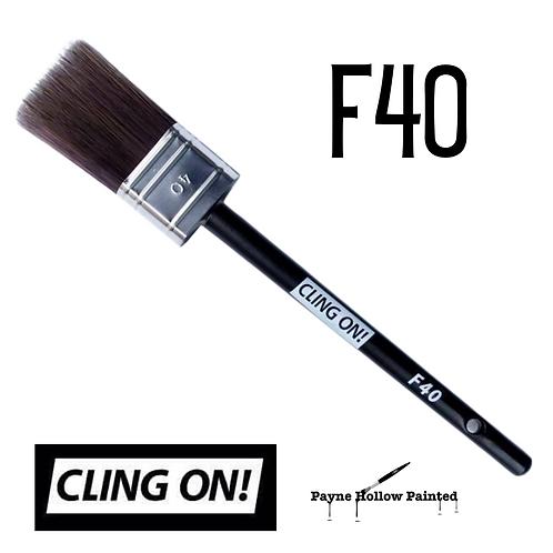 Cling-On F40 Flat Paint Brush