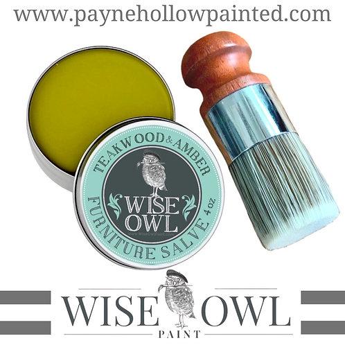 Wise Owl TEAKWOOD & AMBER Furniture Salve