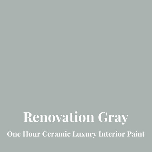 RENOVATION GRAY One Hour Ceramic FREE SHIPPING!
