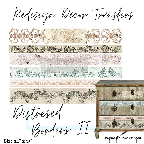 DISTRESSED BORDERS II  - Redesign Décor Transfers®