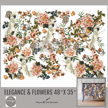 ELEGANCE & FLOWERS- Redesign Décor Transfers®