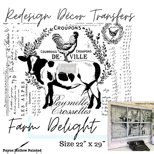 FARM DELIGHT  - Redesign Décor Transfers®