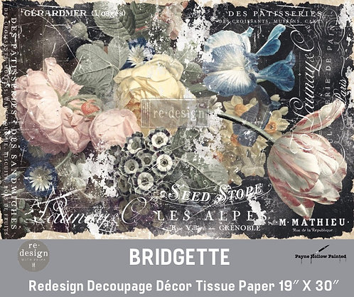 BRIDGETTE - Redesign Decoupage Tissue Paper