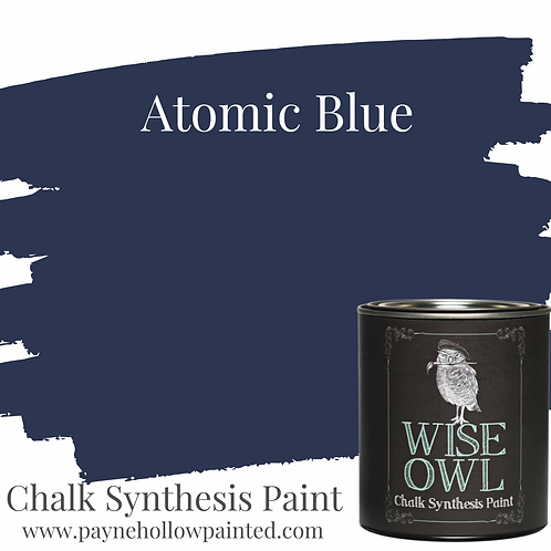 Atomic Blue Chalk Synthesis Paint