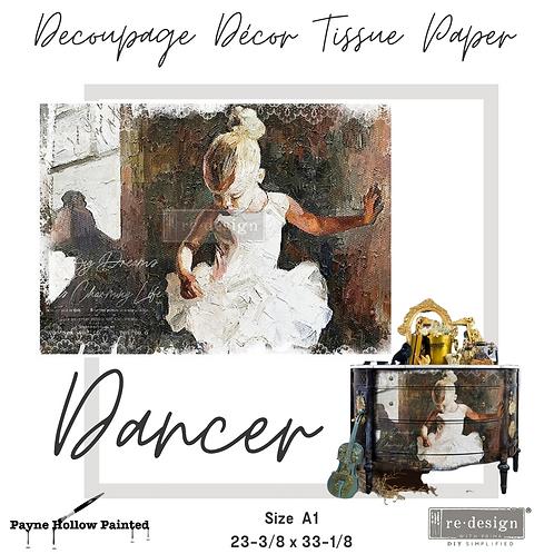 DANCER - Redesign A1 Decoupage Tissue Paper