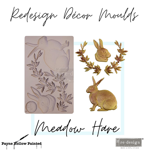 Meadow Hare  -  Redesign Decor Moulds®