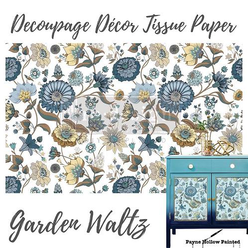 GARDEN WALTZ - Redesign Decoupage Tissue Paper