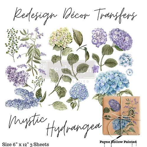 MYSTIC HYDRANGEA - Redesign Decor Transfer