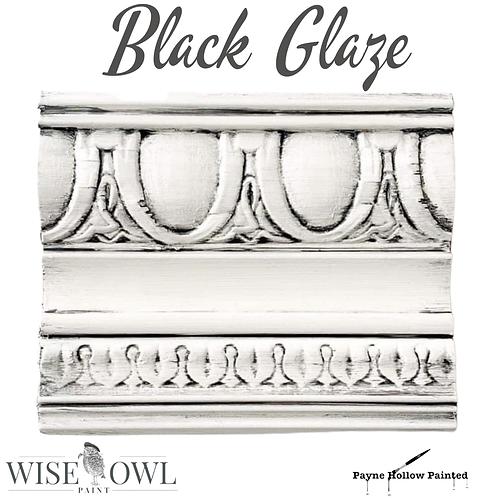 Wise Owl BLACK Glaze
