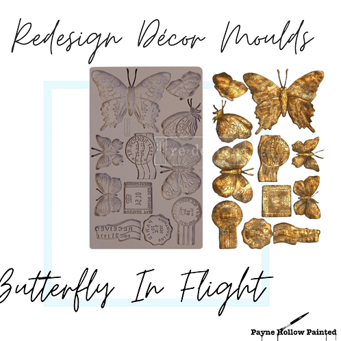 BUTTERFLY In FLIGHT - Redesign Decor Moulds®