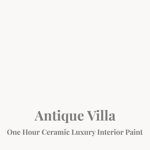 ANTIQUE VILLA One Hour Ceramic
