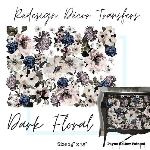 DARK FLORAL - Redesign Décor Transfers®