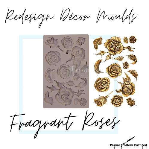 FRAGRANT ROSES - Redesign Decor Moulds®