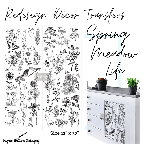 SPRING MEADOW LIFE  -  Redesign Decor Transfers®