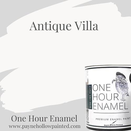 ANTIQUE VILLA  One Hour Enamel