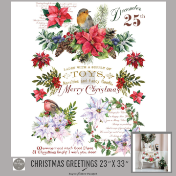 CHRISTMAS GREETINGS - Redesign Décor Transfers®