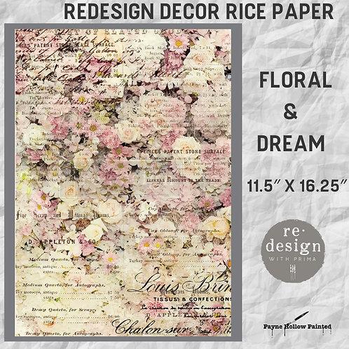 FLORAL & DREAM - Redesign Décor Rice Paper