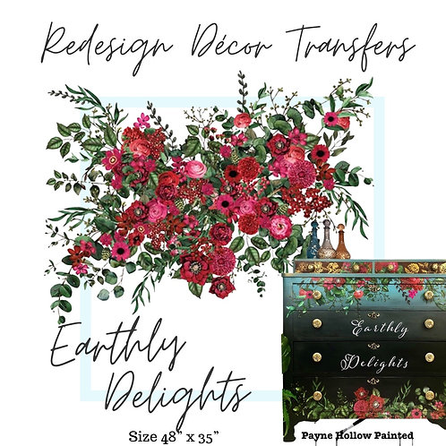 EARTHLY DELIGHTS - Redesign Décor Transfers®