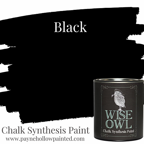 BLACK Chalk Synthesis Paint