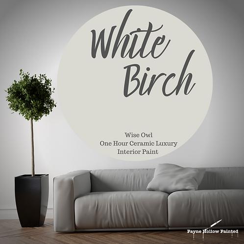 WHITE BIRCH One Hour Ceramic FREE SHIPPING!