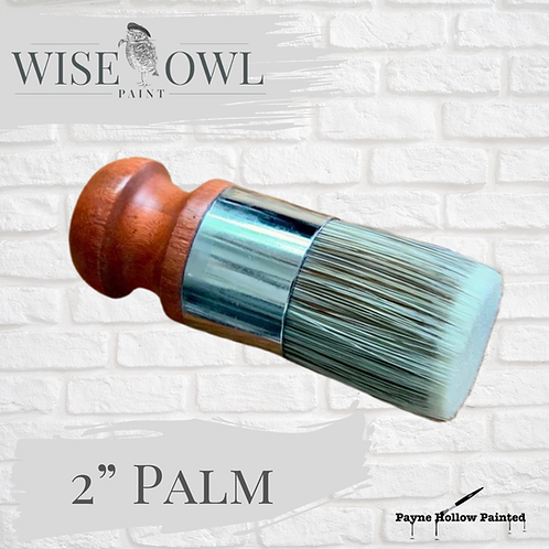 "2"" PALM BRUSH  Wise Owl Premium Brushes"