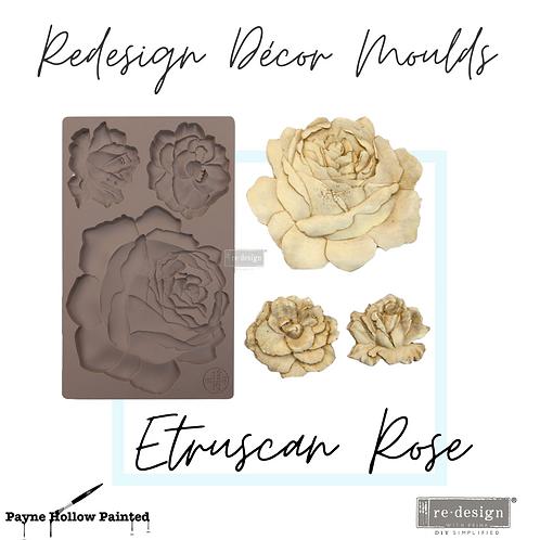 ETRUSCAN ROSE  - Redesign Decor Moulds®