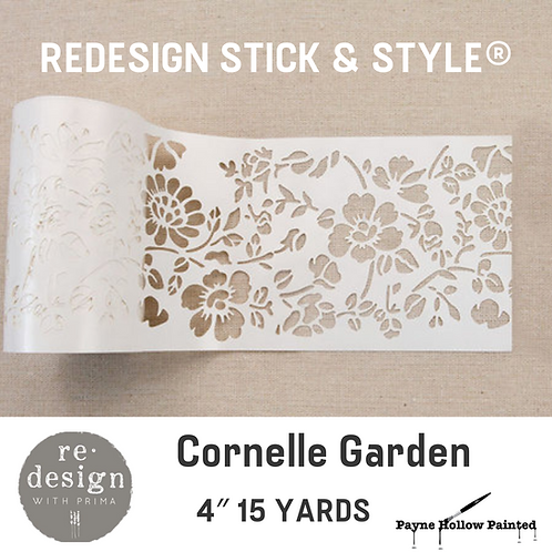 CORNELLE GARDEN - Redesign Stick & Style® 4″ 15 YARDS
