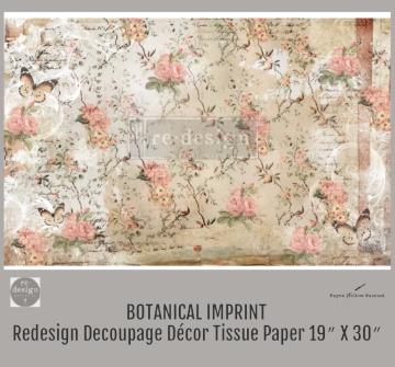 BOTANICAL IMPRINT - Redesign Decoupage Paper