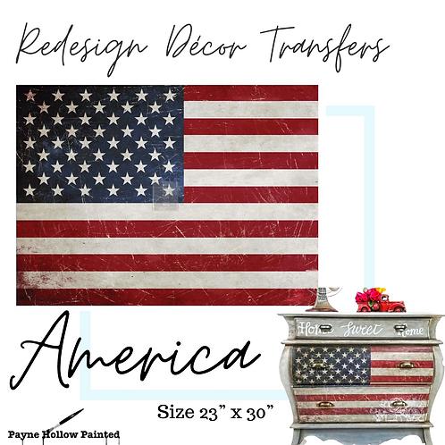 AMERICA -  Redesign Decor Transfers®