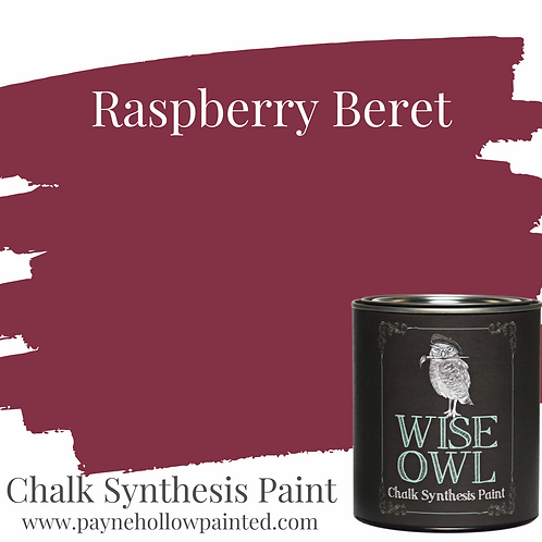 Raspberry  Beret Chalk Synthisis Paint