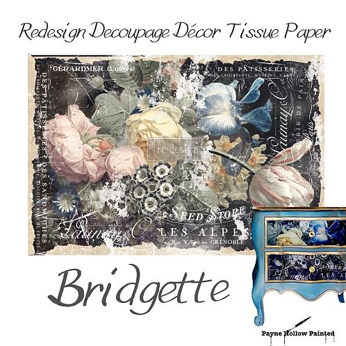 BRIDGETTE - Redesign Decoupage Tissue Paper