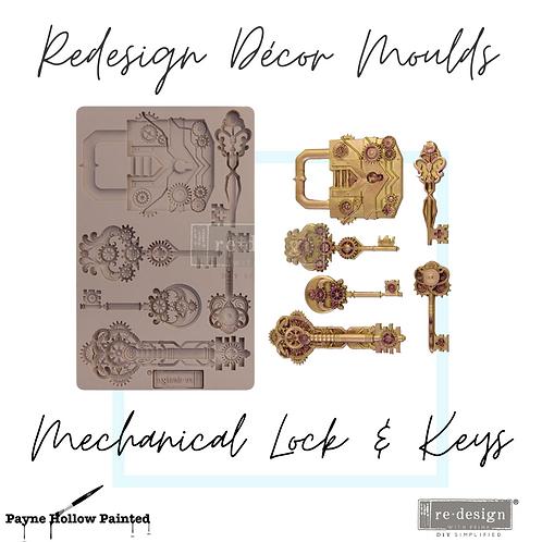 MECHANICAL LOCK & KEYS  - Redesign Decor Moulds®