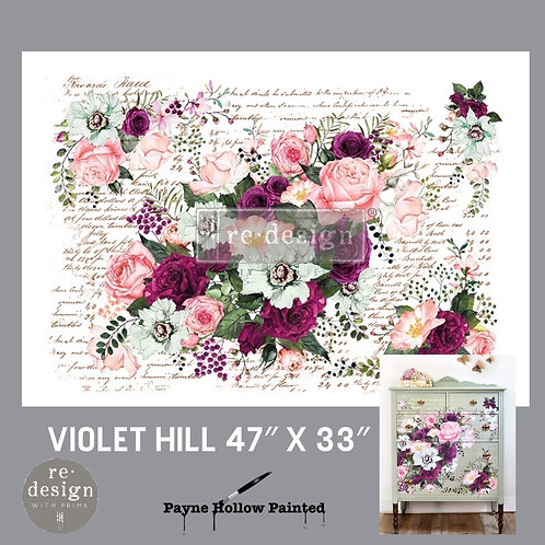 VIOLET HILL -  Redesign Décor Transfers®