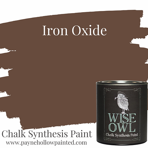 Iron Oxide Chalk Synthisis Paint