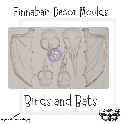 BIRDS AND BATS  by FINNABAIR - Redesign Decor Moulds®
