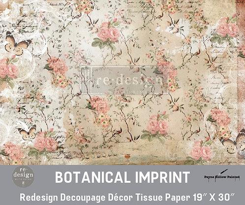 BOTANICAL IMPRINT - Redesign Decoupage Tissue Paper