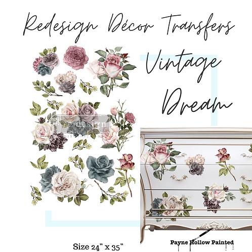 VINTAGE DREAM  -  Redesign Decor Transfers®