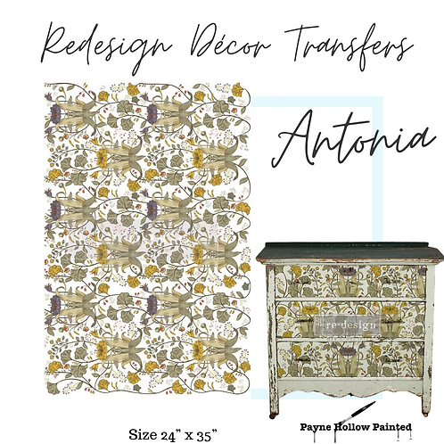 ANTONIA  - Redesign Decor Transfers