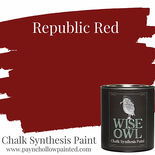 REPUBLIC RED Chalk Synthesis Paint