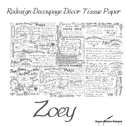 ZOEY- Redesign Decoupage Tissue Paper