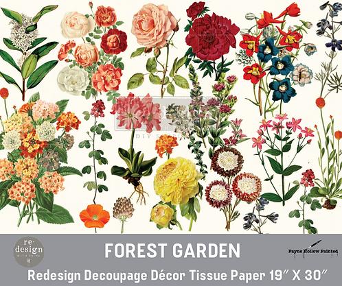 FOREST GARDEN-  Redesign Decoupage Tissue Pape
