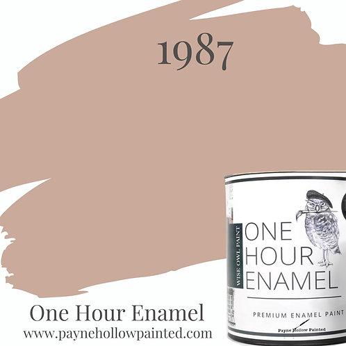 1987  One Hour Enamel