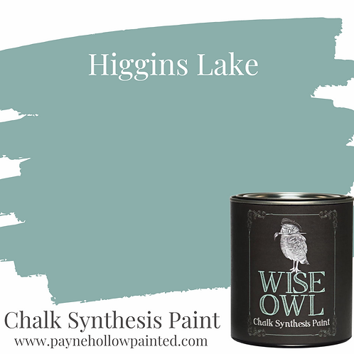HIGGINS LAKE  Chalk Synthesis Paint