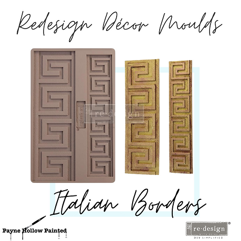 ITALIIAN BORDERS -  Redesign Decor Moulds®